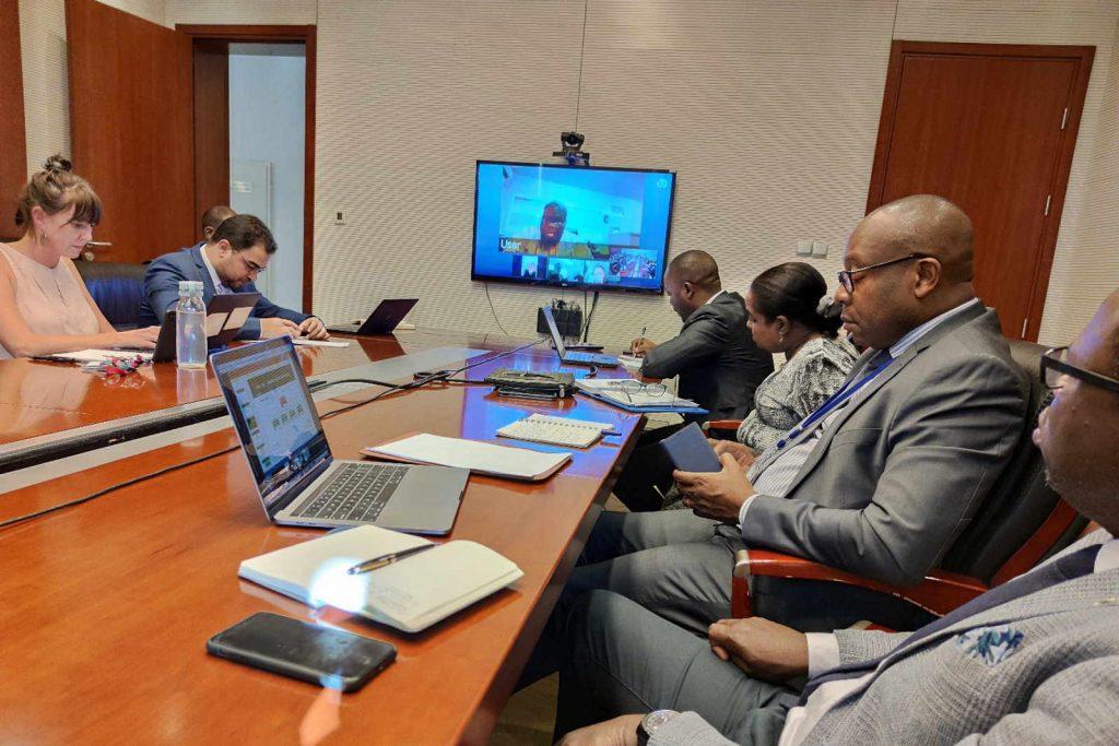 Africa CDC task force coronavirus