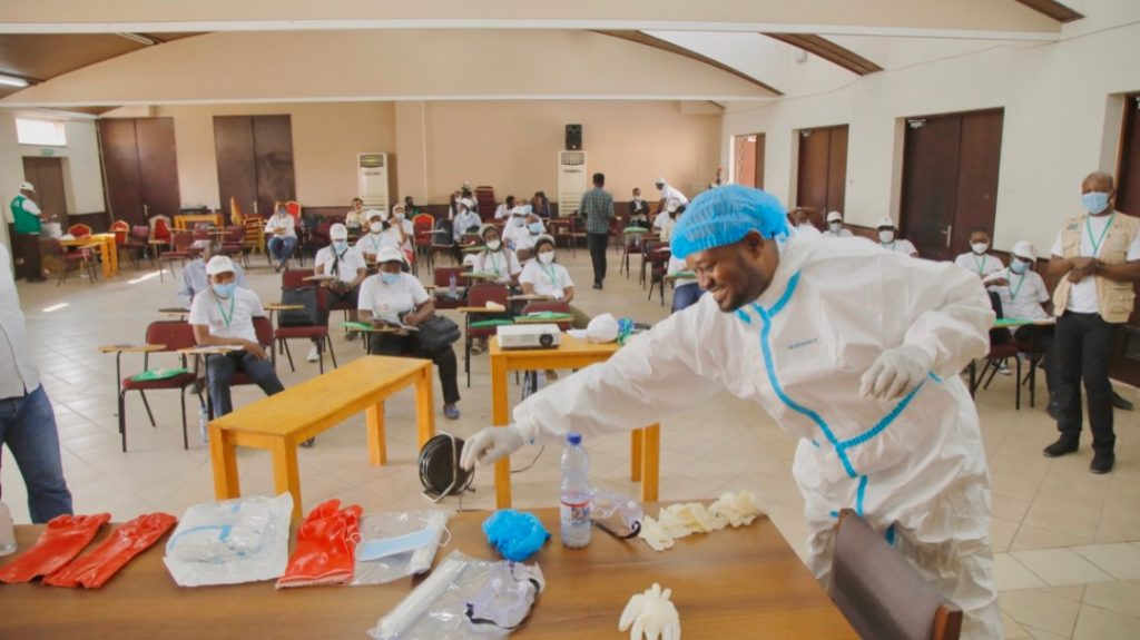 Promoting manufacture of PPE in Africa